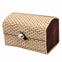 Set of 4 Vintage Novelty Decoration Box Jewelry Soapbox Storage Box Beige