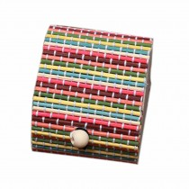 Set of 4 Vintage Novelty Box Jewelry Soapbox Storage Box Heart Multicolor
