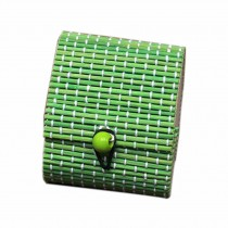 Set of 4 Vintage Novelty Box Jewelry Soapbox Storage Box Heart Green