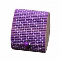 Set of 4 Vintage Novelty Box Jewelry Soapbox Storage Box Heart Purple