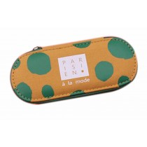 Practical Creative Sunglasses/Eyeglass Case Box Canvas Green