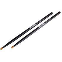 Drum Sticks 5A Premium Quality Hickory Drumsticks Versatile Drum Sticks Black