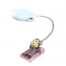 Cute Brown Monkey Cheap Desk Lamp Bedroom Lamps Table Lamps LED Desk Lamp