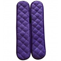 [Purple] Flannel Chair Armrest Covers Armrest Pads Chair Arm Covers