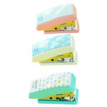 Set Of 2 Creative Mini Portable Desktop Stapler Office Stapler Random Color A