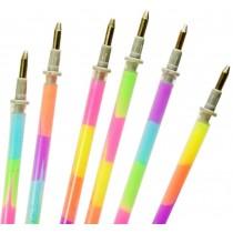 Set Of 10 Lovely Highlighter Refill Marking Crayons Dauber Random Color