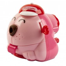 Cute Cartoon Dog Hand Rotating Pencil Sharpener School Office Supplies RED