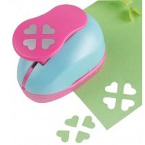 Creative Handcraft Edger Punch DIY Lacework Flower Punch, Heart-shaped Design