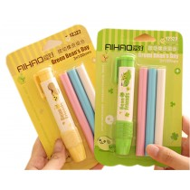 5 Sets Functional Mechanical Refillable Painting Eraser Pen School/Office Supply