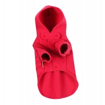 [Red]Dog Warm Clothing Autumn And Winter Clothes For Puppy