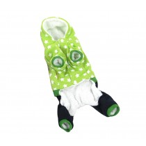 Autumn And Winter Clothes For Puppy With Star Pattern Dog Warm Clothing