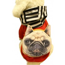 Warmth Pet Dog Clothes Winter Dress Fashion Pet Dog Clothing Red