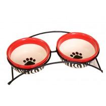 Pet Feeding Supplies Ceramic Water Bowls/Raised Bowls/Cat or Dog Food Bowl(#14)