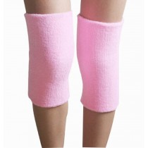 Sports Kneepad Warmer Knee Braces Sleeve Knee Support, Free Size, Pink