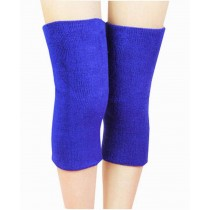 Sports Kneepad Warmer Knee Braces Sleeve Knee Support, Free Size, Blue