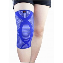 Sports Kneepads Elastic Knee Braces Sleeve Knee Support, M, 1 pcs, Blue