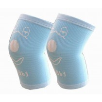 Sports Kneepads Elastic Knee Braces Sleeve Knee Support for Kids, M,  Blue