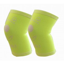 Sports Kneepads Elastic Knee Braces Sleeve Knee Support for Kids, M, Green