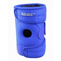 Sports Kneepads Knee Braces Knee Support with Spring, Free Size, Blue