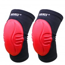 Practical Sports Kneepads Knee Braces Knee Wraps with Sponge , Free Size