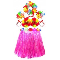 Party Clothing Spoof Party Skirt Cute Dress Popular Grass Skirt Pink