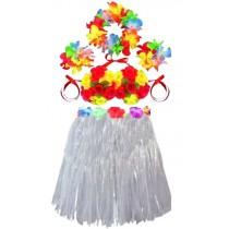 Fashion Pparty Dress Popular skirt Dance skirt Hula Skirt White
