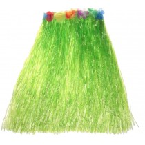 Beautiful Dress Fashion Grass Skirts Dance Party Dress for Audlt Green