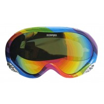Adult's Ski Goggles Sports Mountaineering Anti-fog Goggles Lovers Snow Goggle B