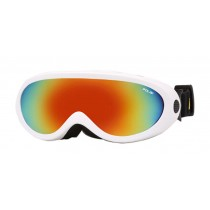 Adult And Children's Ski Goggles Sports Mountaineering Anti-fog Goggles White