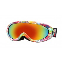 Adult And Children's Ski Goggles Sports Mountaineering Anti-fog Goggles Fashion