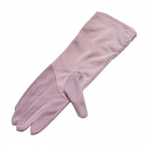 Lace Gloves Sunscreen Gloves Cycling Gloves Purple
