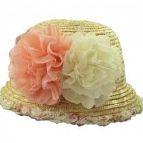 Stylish Women Summer Straw Hat Beach Hat Sun Hat Wide Brim Hat