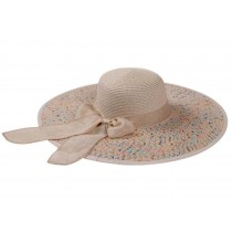 Sun Hat Beige Color Foldable Hats Beach Hats Travel Hat for Lady