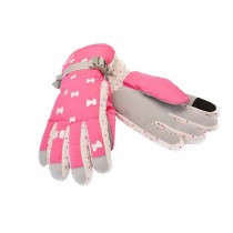 Pink Women's Cold Winter Warm Gloves Newly Designed Gloves