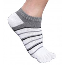 Mens Calmness Low Cut Five Toes Socks Five Fingers Socks 1 Pairs