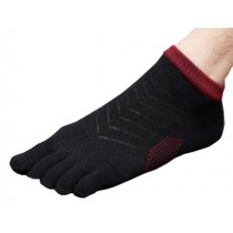 Mens Willpower Low Cut Five Toes Socks Five Fingers Socks 1 Pairs