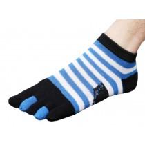 Mens Easy Charm Low Cut Five Toes Socks Five Fingers Socks 1 Pairs