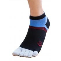 Mens Good Start Low Cut Five Toes Socks Five Fingers Socks 1 Pairs