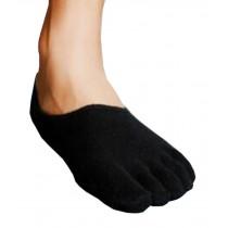 Mens Modest Low Cut Five Toes Socks Five Fingers Flat Socks 1 Pairs