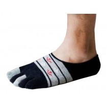 Mens Enchantment Low Cut Five Toes Socks Five Fingers Flat Socks 1 Pairs