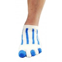 Mens Blue Air Five Toes Socks Five Fingers Short Socks 1 Pairs