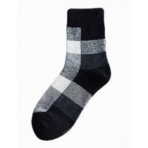[Three Pairs] Breathable Tube Male Socks Cotton Odor-proof Mens Socks