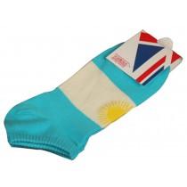 Set Of 2 Flag Socks Cotton Socks Men Socks Sports Socks Brazil Argentina