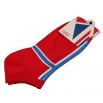 Set Of 2 Flag Socks Cotton Socks Men Socks Sports Socks Norway