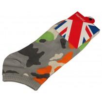 Set Of 2 Flag Socks Cotton Socks Men Socks Sports Socks Darkgray