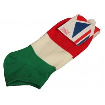 Set Of 2 Flag Socks Cotton Socks Men Socks Sports Socks Italy