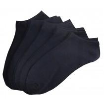 Set Of 5 Short Socks Cotton Socks Men Socks Sports Socks Black
