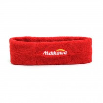 Red Headband Teens Sweat Bands Sport Supplies Soft Head Bands