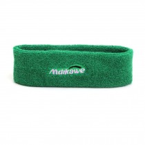 Headband Outdoor/Indoor Sport Green Color Headbands Cotton Headband for Teens