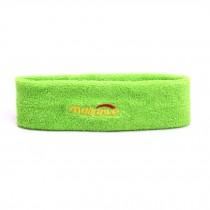 Elastic Sweatband Light Green Headband Sports Headbands Head Bands